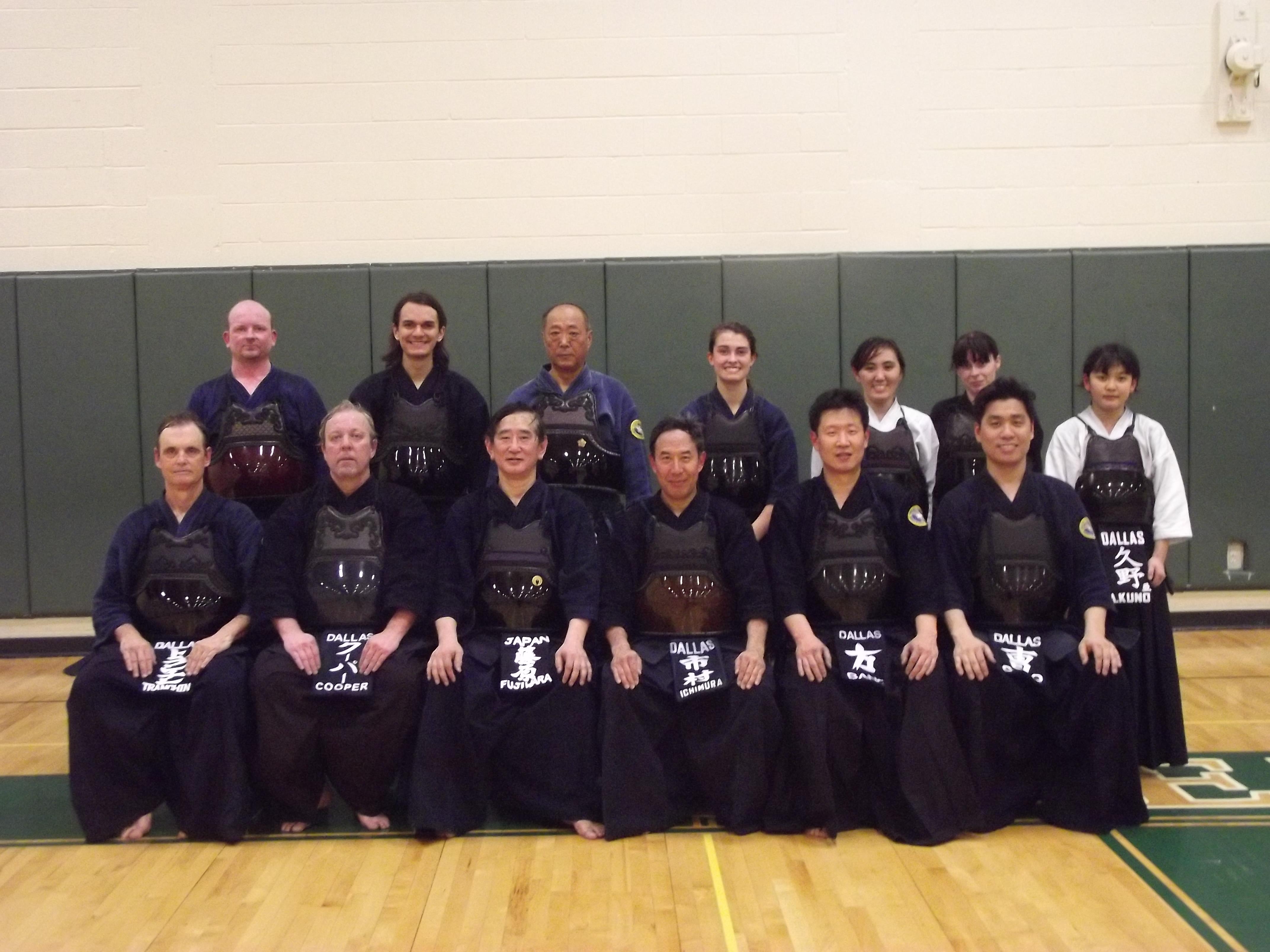 Fujiwara Sensei Visit
