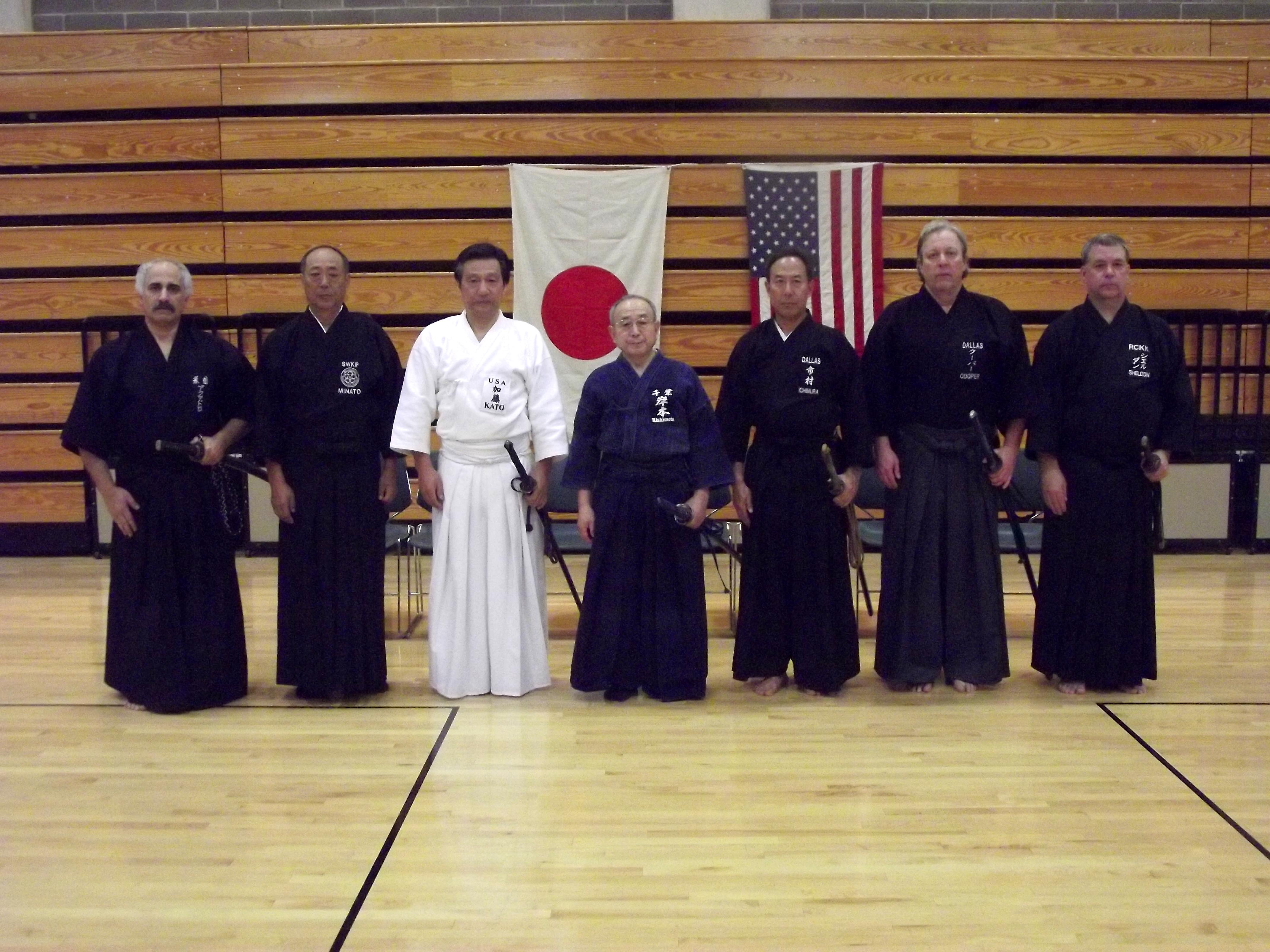 Kishimoto Sensei & DFWKIK Senseis