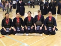 Southwest Kendo and Iaido Federation Team 1 for winning Second Place
